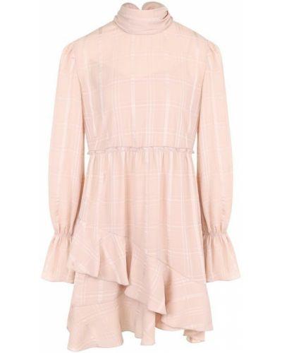 Платье мини приталенное с оборками See By Chloé