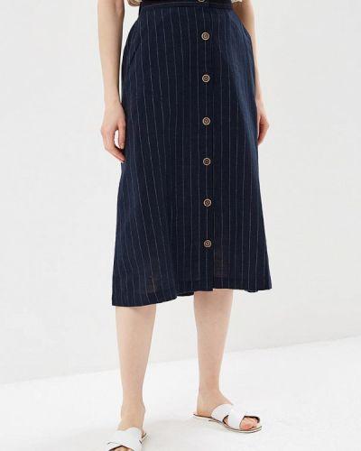 Синяя юбка Mango