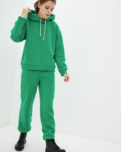 Костюмный зеленый спортивный костюм Lilove