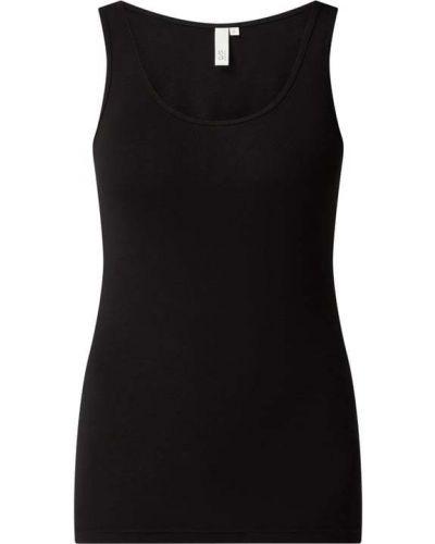 Koszulka bawełniana - czarna Q/s Designed By
