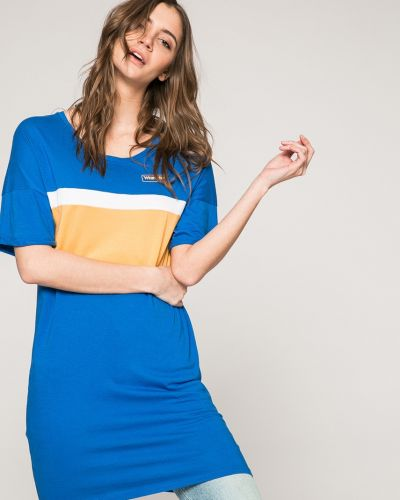 Синее платье мини Wrangler