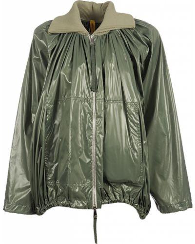 Zielona kurtka casual Moncler