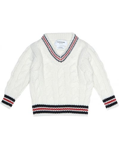 Классический свитер Thom Browne Kids