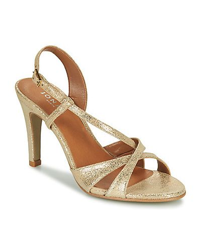 Złote sandały Jonak