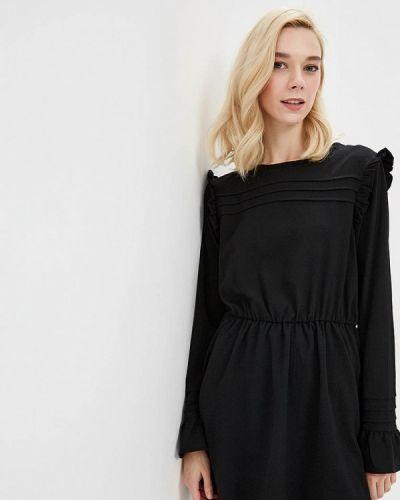Черное платье прямое Brave Soul