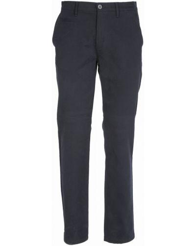 Хлопковые повседневные синие брюки Navigare