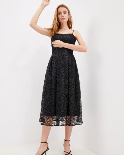 Черное вечернее платье Charuel