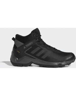 Водонепроницаемые трекинговые черные кроссовки Adidas