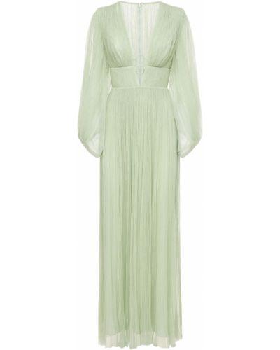 Платье макси длинное Maria Lucia Hohan