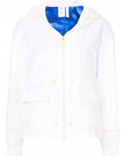 Куртка с капюшоном спортивная белая Puma X Sophia Webster