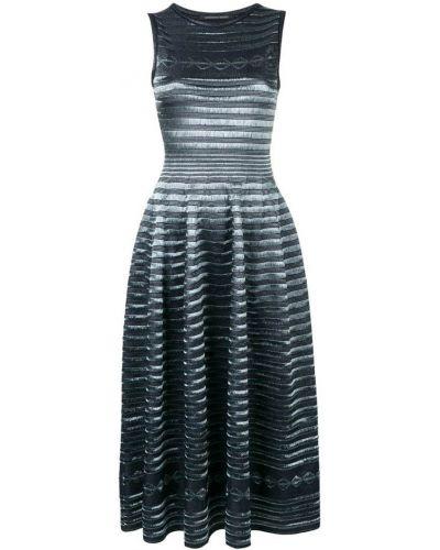 Платье миди - синее Antonino Valenti