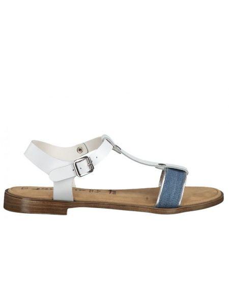 Повседневные белые джинсы на каблуке Tamaris