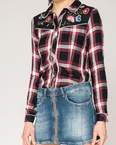 Джинсовая юбка облегающая с поясом Pepe Jeans