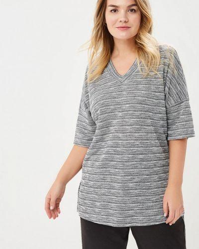 Пуловер серый Bonne Femme