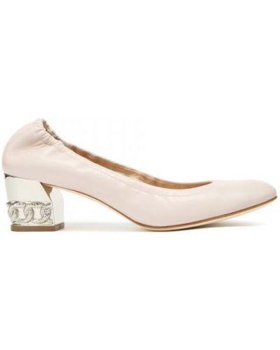 Туфли розовый Casadei