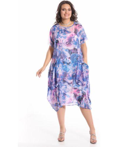 Платье из вискозы шифоновое Merlis