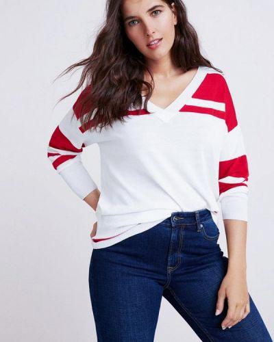 Белый пуловер 2018 Violeta By Mango