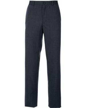 Niebieskie klasyczne spodnie Kent & Curwen