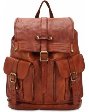 Brązowy plecak skórzany Campomaggi