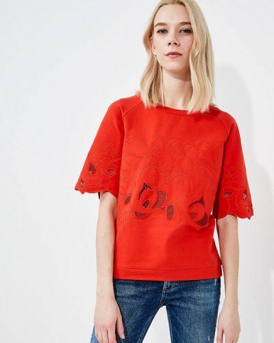 Красный свитшот Liu Jo