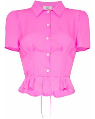 Блузка розовая классическая Maryam Nassir Zadeh