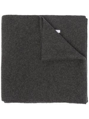 Prążkowany szalik wełniany z haftem Dsquared2