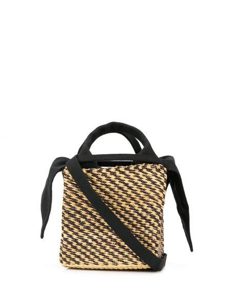 Плетеная сумка-тоут круглая Muun