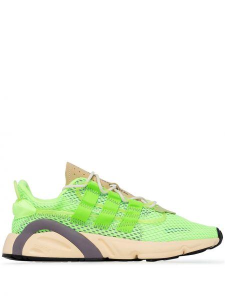 Ażurowy skórzany sneakersy Adidas