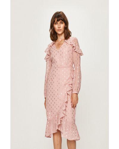 Платье с декольте прямое Glamorous
