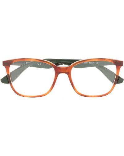 Прямые черные очки для зрения прямоугольные Ray-ban