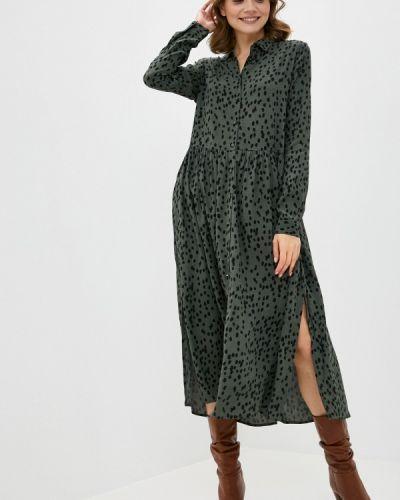 Зеленое платье Mbym