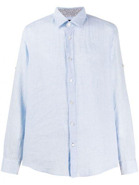 Koszula z długim rękawem klasyczna niebieski Boss Hugo Boss