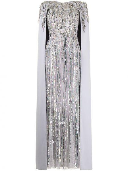 Fioletowa sukienka Jenny Packham