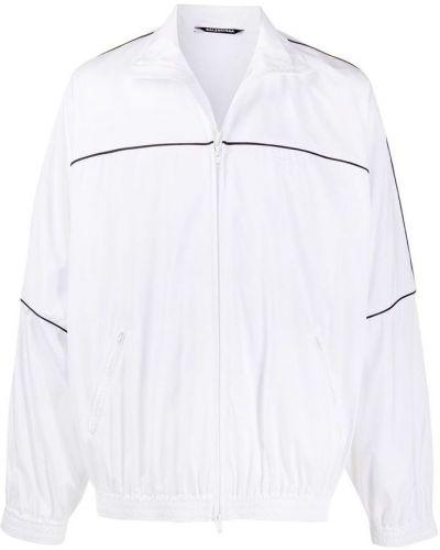 Biała kurtka Balenciaga