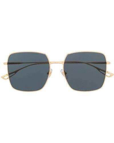 Прямые муслиновые желтые солнцезащитные очки квадратные Bolon