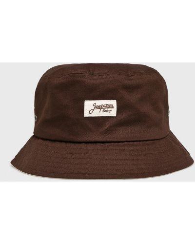 Коричневая шляпа True Spin