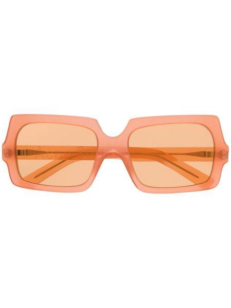 Okulary - pomarańczowe Acne Studios