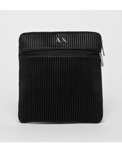 Сумка через плечо универсальный черная Armani Exchange