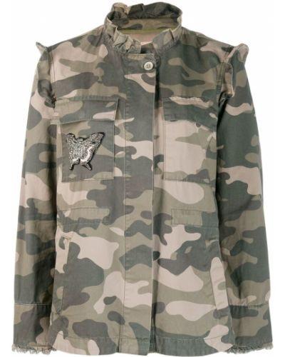Пиджак милитари - зеленый Twin-set
