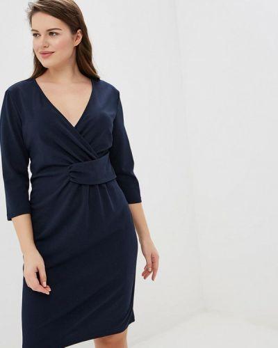 Повседневное платье итальянский синее Kitana By Rinascimento