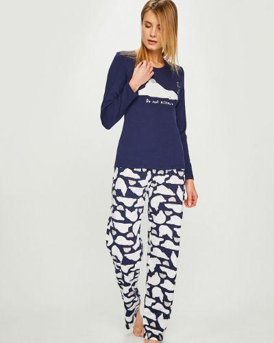 Пижама с длинными рукавами однотонная Answear
