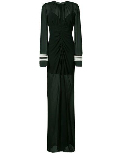 Вечернее платье шелковое с драпировкой Vera Wang