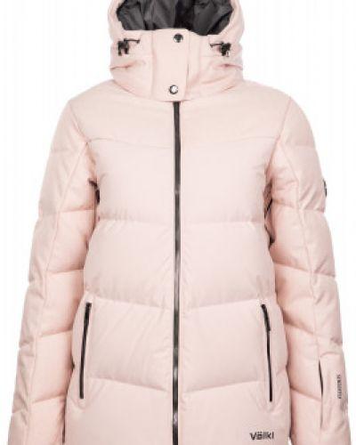 Свободная розовая куртка свободного кроя VÖlkl