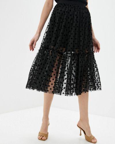 Черная юбка свободного кроя Sultanna Frantsuzova