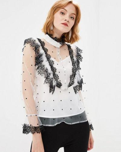 Блузка кружевная белая Paccio