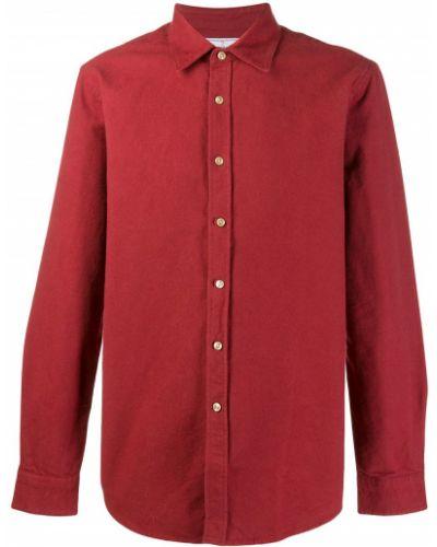Классическая фланелевая классическая рубашка с воротником с манжетами Portuguese Flannel