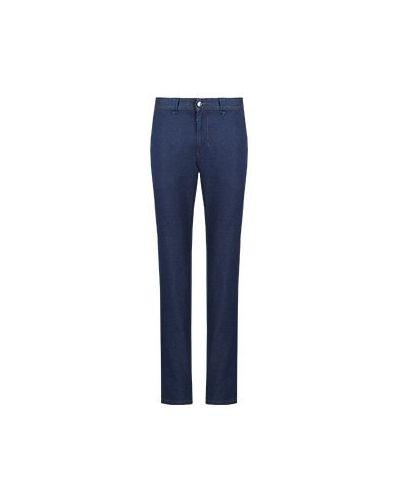 Синие прямые джинсы Castello D'oro