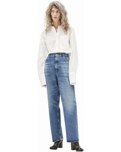 Прямые джинсы - синие Golden Goose