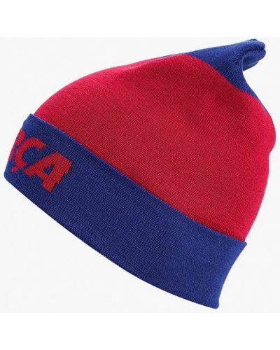 Красная шапка осенняя Nike