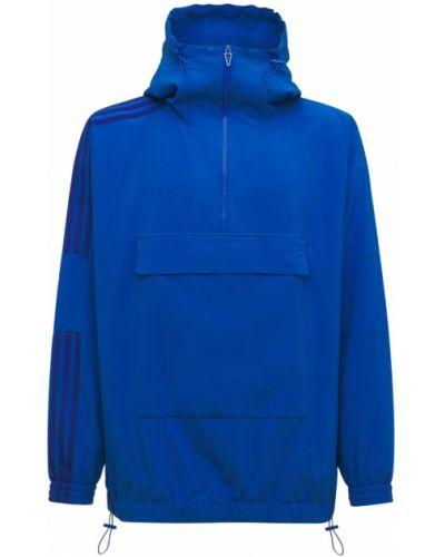 Синяя куртка с завязками Adidas X Ivy Park